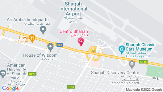 Centro Sharjah Map