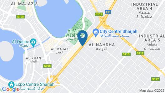 Citymax Hotel Sharjah Map