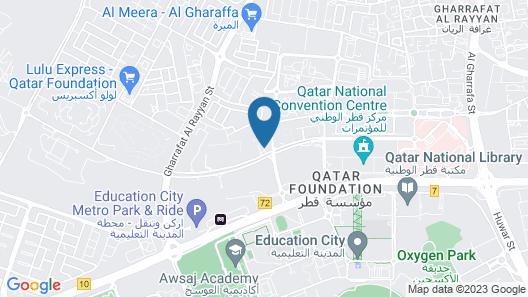 Premier Inn Doha Education City Map