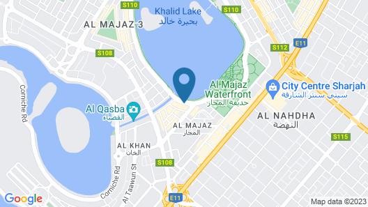 Golden Tulip Sharjah Map