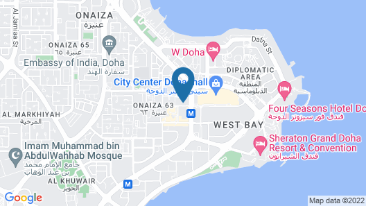 Pullman Doha West Bay (Opening Soon)  Map