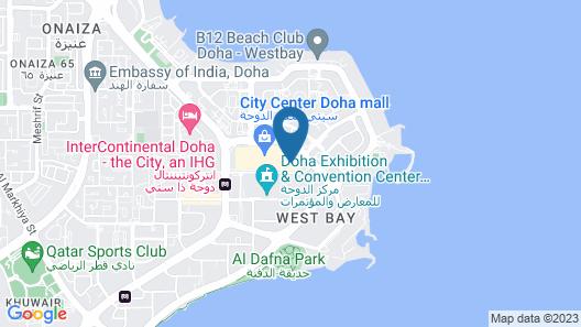 City Centre Rotana Map