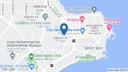 Mathema Premium Aparthotel Map
