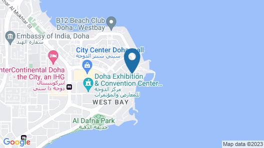 Movenpick Hotel West Bay Doha Map