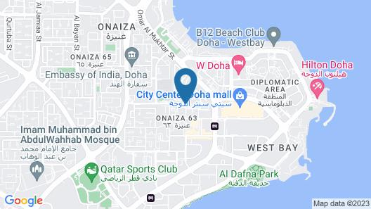 InterContinental Doha The City Map