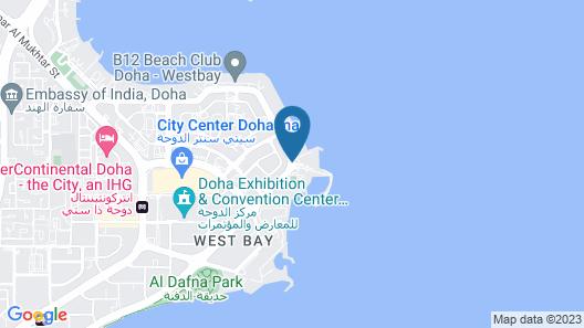 Hilton Doha Map