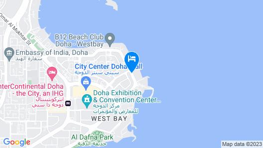 Retaj Al Rayyan Hotel Map