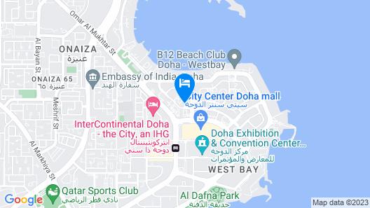 Dusit Doha Hotel Map