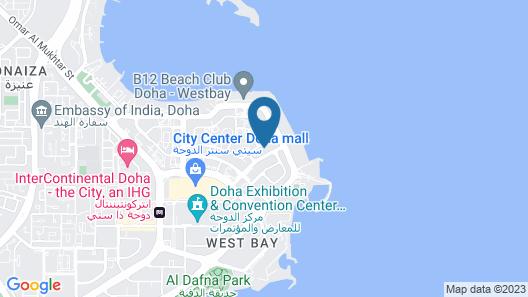 Centara West Bay Hotel & Residences Doha Map