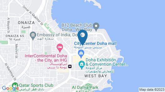 Kempinski Residences & Suites, Doha Map