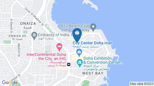 W Doha Map