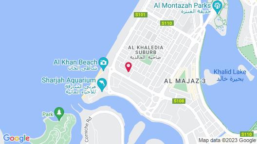 Al Khalidiah Resort Map