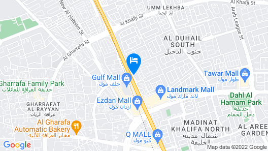Ezdan Palace Hotel Map