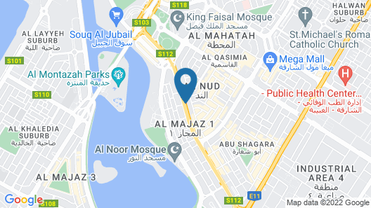 Four Points by Sheraton Sharjah Map