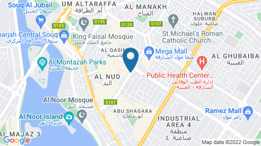 Crystal Plaza Hotel Map