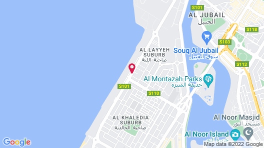 Sharjah Premiere Hotel Resort Map