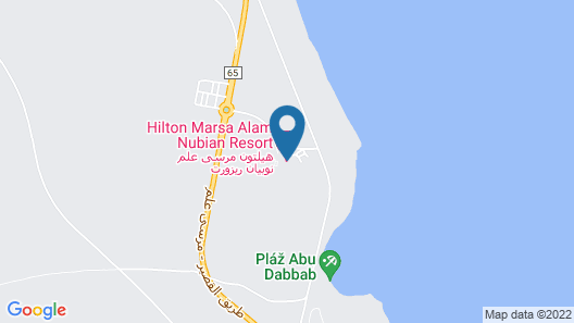 Nubian Inn Marsa Map
