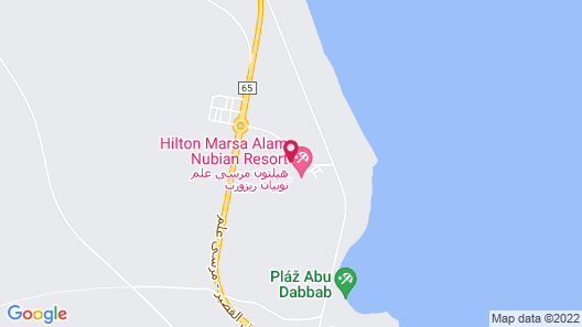 Hilton Marsa Alam Nubian Resort Map