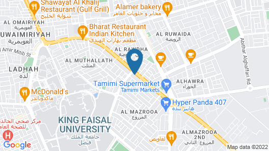 Al Eairy Furnished Apartments Al Ahsa 5 Map