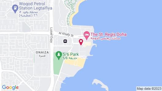 InterContinental Doha, an IHG Hotel Map
