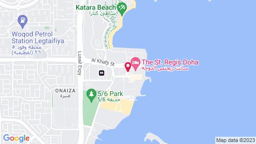 The St. Regis Doha Map