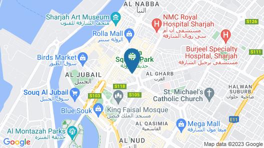 Nejoum Al Emarate Map
