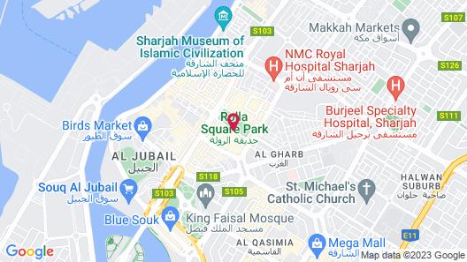 Al Sharq Hotel Map
