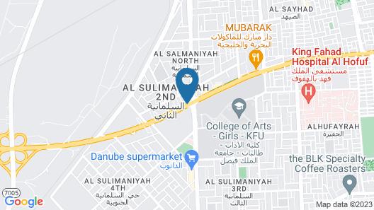 Taleen Al Hasa Map