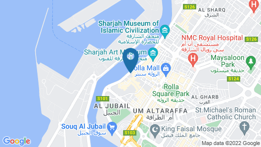 The Chedi Al Bait, Sharjah, UAE Map