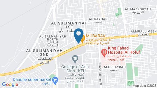 Al Muhaidb Residence Al Ahsa Map