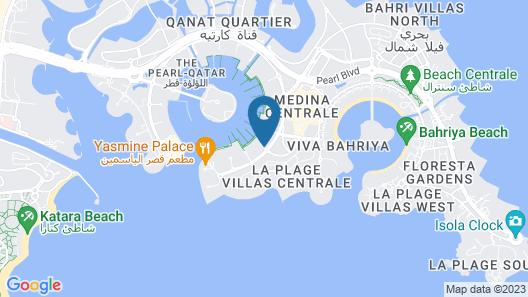 Sedra Arjaan By Rotana Map