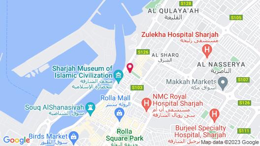 Rayan Hotel Corniche Map