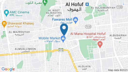 Al Masem Hotel Suite 1 Map