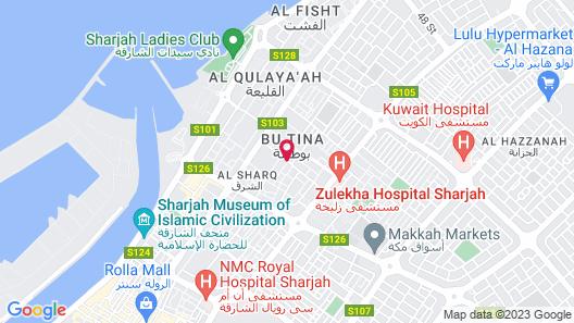 Al Salam Inn Hotel Suites Map
