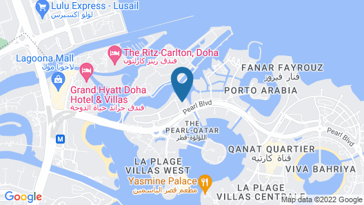 Hilton Doha The Pearl Residences Map
