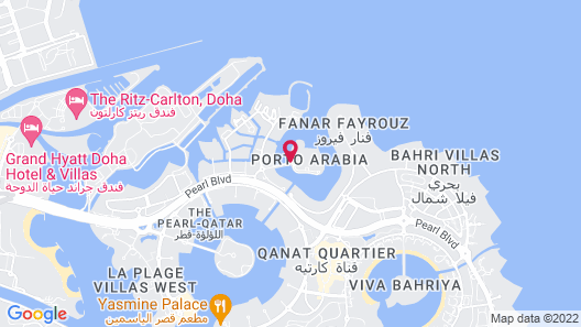 Marsa Malaz Kempinski, The Pearl - Doha Map