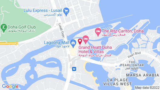 Grand Hyatt Doha Map