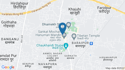 Aashirwad Paying Guest House Map