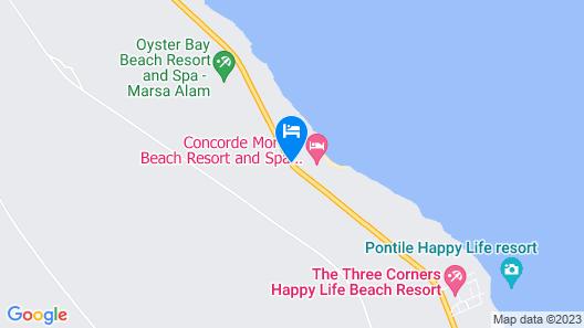 Concorde Moreen Beach Resort & Spa Map