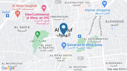 SEPAR Furnished Hotel Map
