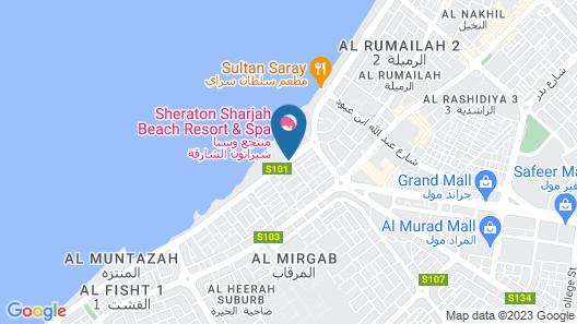 Sheraton Sharjah Beach Resort & Spa Map