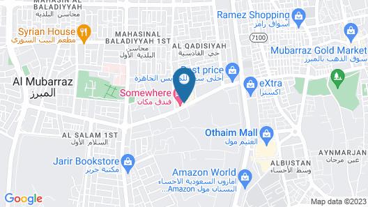 Somewhere Hotel Apartment Al Ahsa Map
