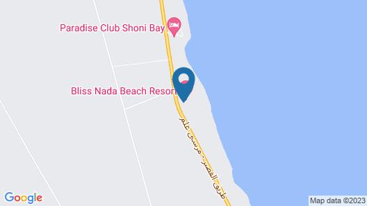 Bliss Nada Beach Resort Map