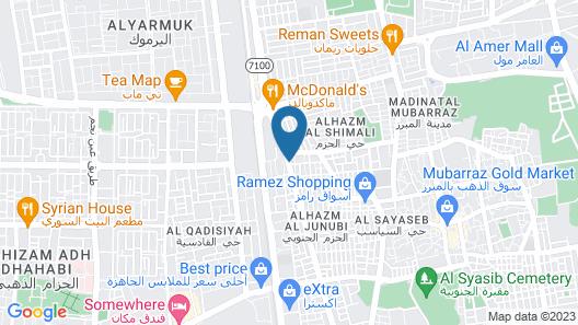 Al Eairy Furnished Apartments Al Ahsa 1 Map