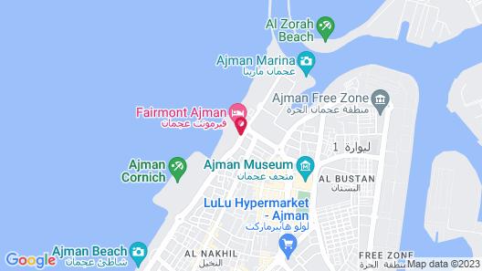 Fairmont Ajman Map