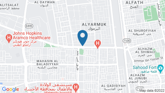 Al Eairy Furnished Apartments Al Ahsa 2 Map