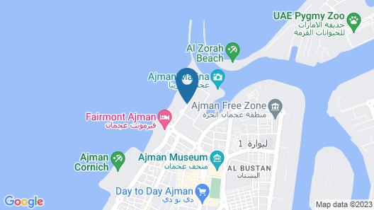 Ajman Saray, a Luxury Collection Resort, Ajman Map