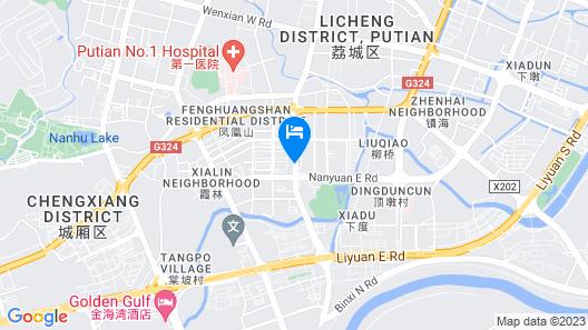 Echarm Putian South Shengli Road Map