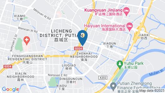 Depo Hotel Map