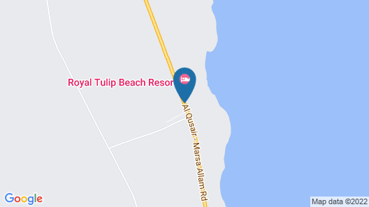 Magic Tulip Beach Resort & SPA Map